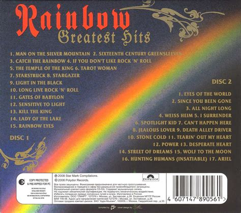Page The Rainbow Cd tapio s ronnie dio pages rainbow counterfeit cd discography