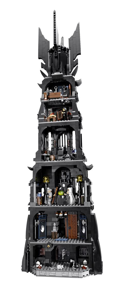Lego The Lord Of The Rings 10237 Tower Of Orthanc lego tower of orthanc 10237 tower