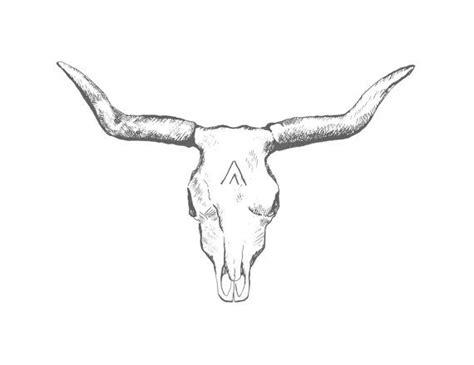 longhorn skull tattoo designs longhorn cattle skull clipart
