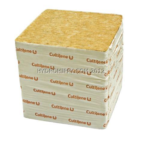 Rockwool Cultilene Uk 25 X 15 X 7 5 Cm Media Tanam Hidroponik 1 4 Slab 8 quot x 8 quot x 8 quot cultilene rockwool blocks growing accessories