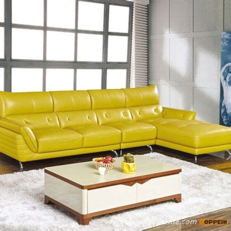 yellow leather sofa modern best 25 yellow leather sofas ideas only on pinterest