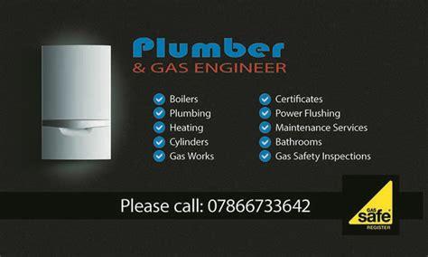 Business Gas Cards plumber gas engineer business card ihomepage design studio
