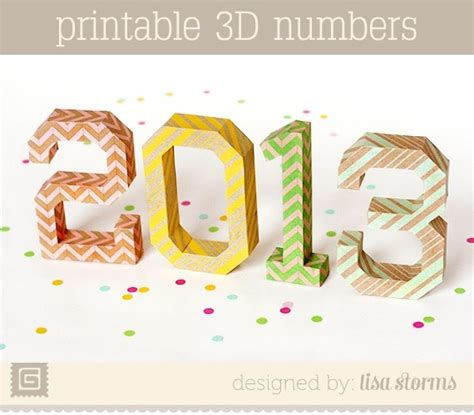 7 best images of printable 3d numbers free printable 3d