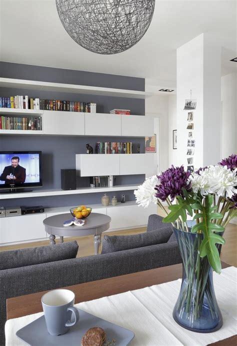 Wandfarbe Ideen Wohnzimmer by 29 Ideen F 252 Rs Wohnzimmer Streichen Tipps Und Beispiele