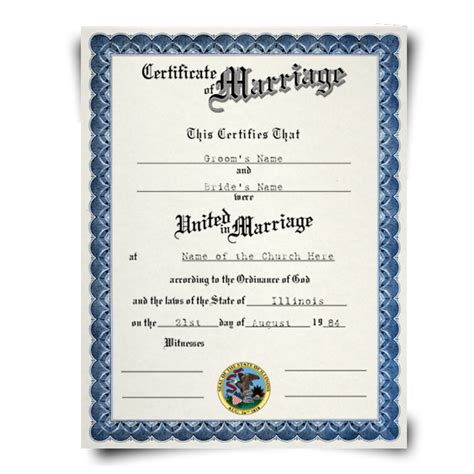 Kansas Marriage Records Blank Marriage License Pennsylvania Images