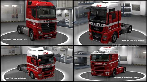 all truck h essers skin for all trucks ets2