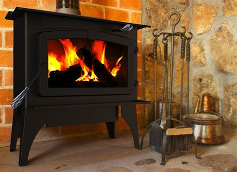 Pleasant Hearth 2 200 Square Feet Wood Burning Stove Best Wood Burning Fireplaces