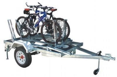 Bike Rack Trailer by Bicycle Rack For Modular Trailer Trailer Accessories For