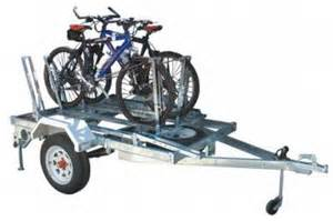 Trailer Bike Rack For Sale by Bicycle Rack For Modular Trailer Trailer Accessories For