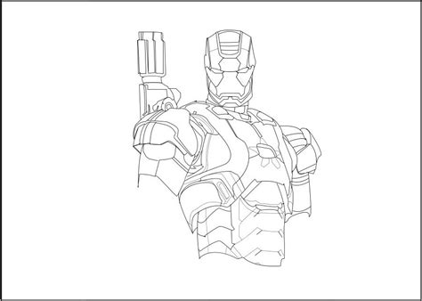 iron man patriot coloring pages iron patriot s profile