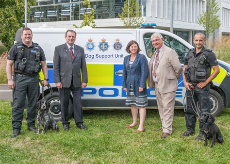 dog section police three forces combine dog sections uk police news