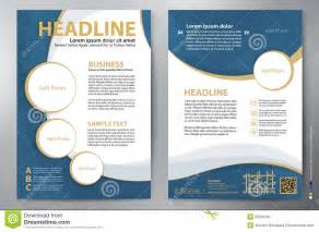 Templates Brochure Design by Brochure Design A4 Vector Template From 53