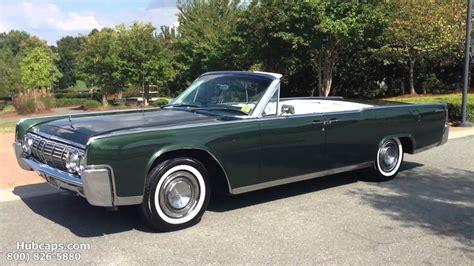 lincoln continental 1964 convertible customer car showcase 1964 lincoln continental