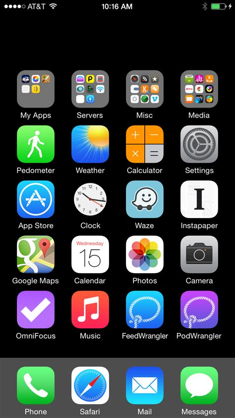 invisible ios home screen icons david smith independent