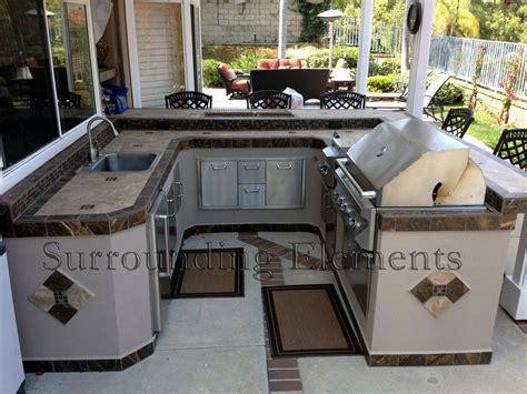 Freestanding Kitchen Islands Barbecue Islands By Surrounding Elements Custom Outdoor