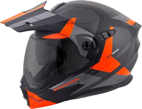 scorpion motocross helmets 289 95 scorpion exo at950 neocon modular helmet 991520
