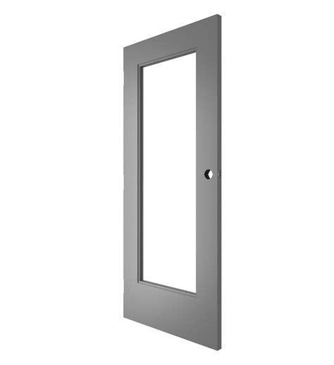 Steel Door With Glass Lif Industries 36 In X 80 In Gray Flush Left Commercial Steel Doors Pilotproject Org