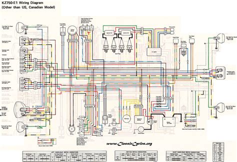 1977 kawasaki kz1000 wiring diagram 1977 free engine