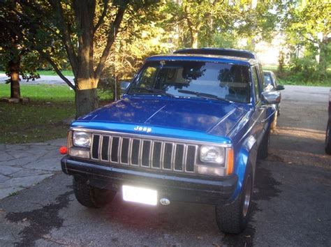 jeep comanche blue blue sunday 1988 jeep comanche regular cab specs photos