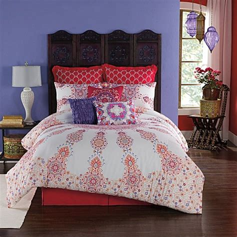 anthology melody reversible comforter set bed bath beyond