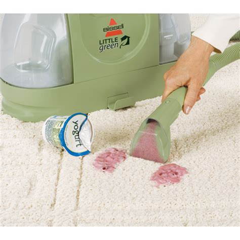 little green upholstery cleaner little green 174 portable carpet cleaner bissell
