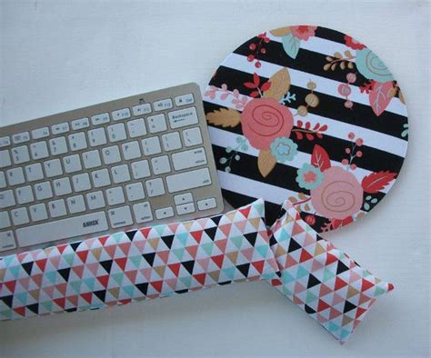 Matching Desk Accessories 17 Best Images About Matching Wrist Rest For Mousepads Your Own Pattern On Pinterest