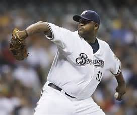 cc sabathia, who dominated while pitching for the brewers