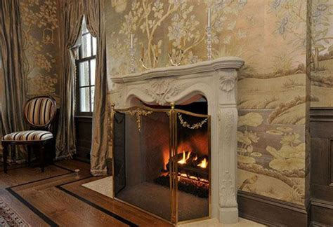 metal fireplace cover 1000 ideas about fireplace accessories on