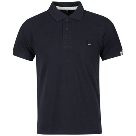 polo shirt bench bench men s resting polo shirt navy clothing zavvi com