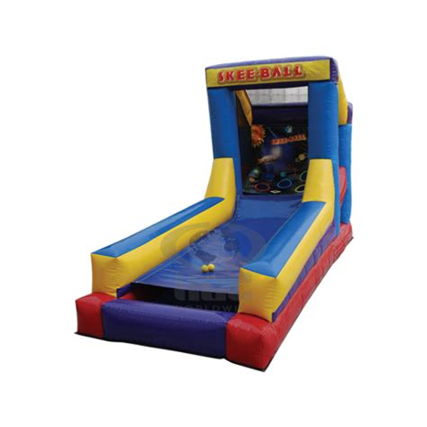 skee ball skee ball mini inflatable ride for sale bounce house