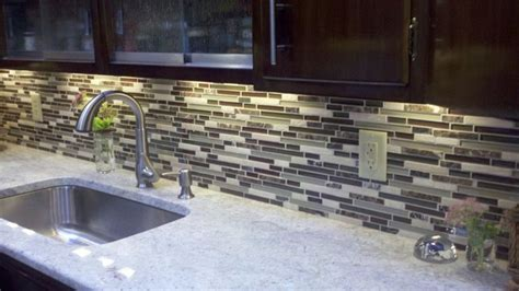 Floors And Decor Orlando linear glass kitchen backsplash kitchen other metro