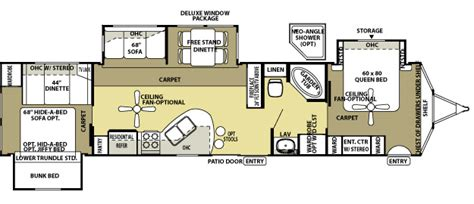 rv cer floor plans floorplans riley s rv world mayfield kentucky