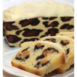 leoparden kuchen rezept leopard print cake