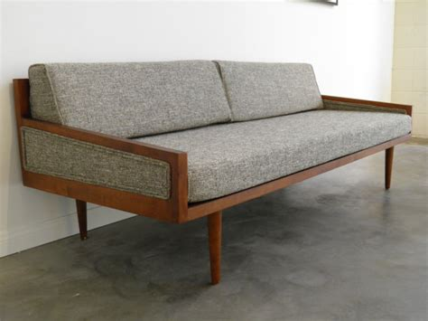 daybed style sofa mid century modern daybed style sofa with arms on etsy