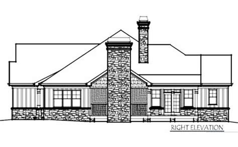 sunset home plans one story cottage style house plan