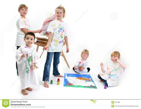 painting for toddlers free of painting stock image image of project