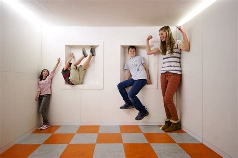 the ames room ames room illusion