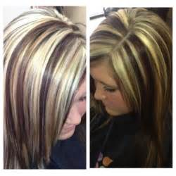hair styles with low and high lites 17 best ideas about chunky highlights on pinterest hair