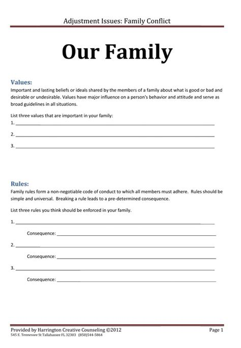 Relationship Conflict Resolution Worksheets by All Worksheets 187 Relationship Conflict Resolution