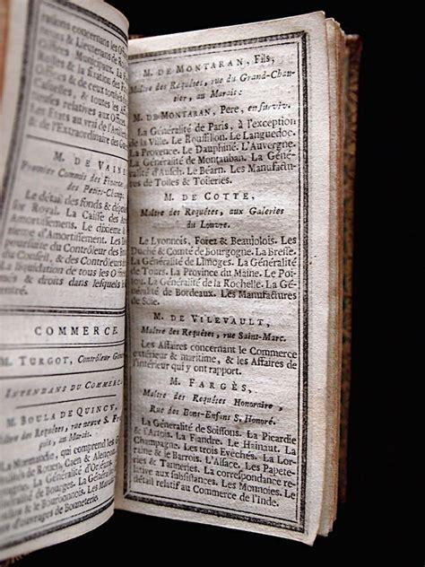 Almanach Calendrier Almanach Calendrier De La Cour Tir 233 Des 233 Ph 233 M 233 Rides