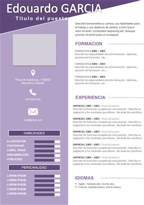 Modelo De Curriculum Funcional Para Rellenar Modelo De Cv Comercial Vendedor 191 Como Hacer Un Curriculum