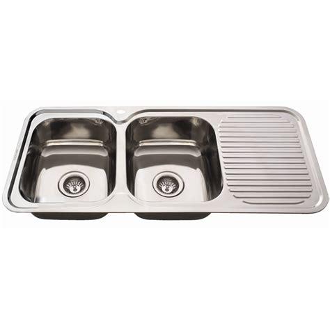 Everhard Sinks by Everhard 1180mm Nugleam Bowl Left Kitchen Sink