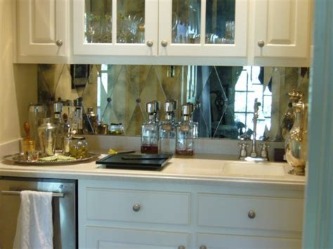 mirrored backsplash in kitchen mirrors archives