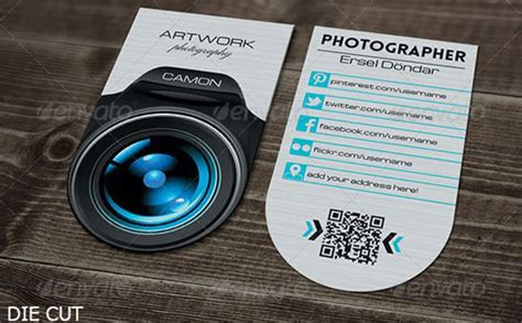 free cards templates for photographers best photography business card templates exle