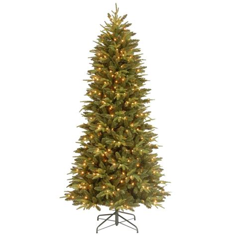 9 ft feel real pomona pine slim artificial christmas tree