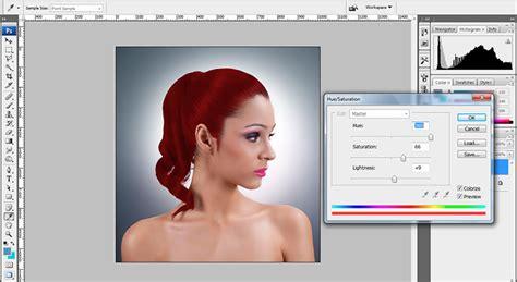 tutorial photoshop indonesia cs4 extract hair photoshop cs4 tutorial change hair color