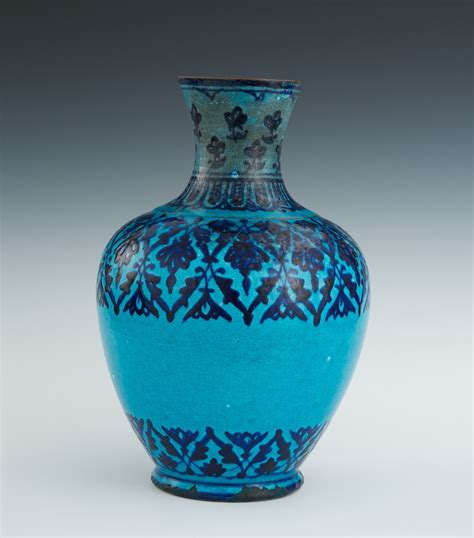 Small Decorative Vases Persian Faience Vase 18th Century 01 29 11 Sold 241 5