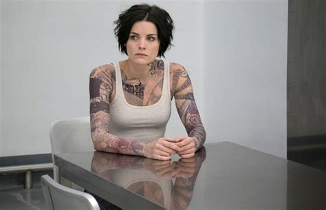 tattoo woman new tv show review in blindspot an amnesiac s tattoos are the