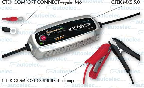 Ctek Mxs 5 0 Battery Charger 12v 5a ctek mxs 5 0t smart battery charger 12v 12 volt 5a 5 mxs 5 0 cycle agm