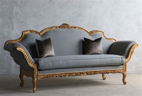 vintage sofa 1920 s vintage shabby gilt italianate rococo daybed